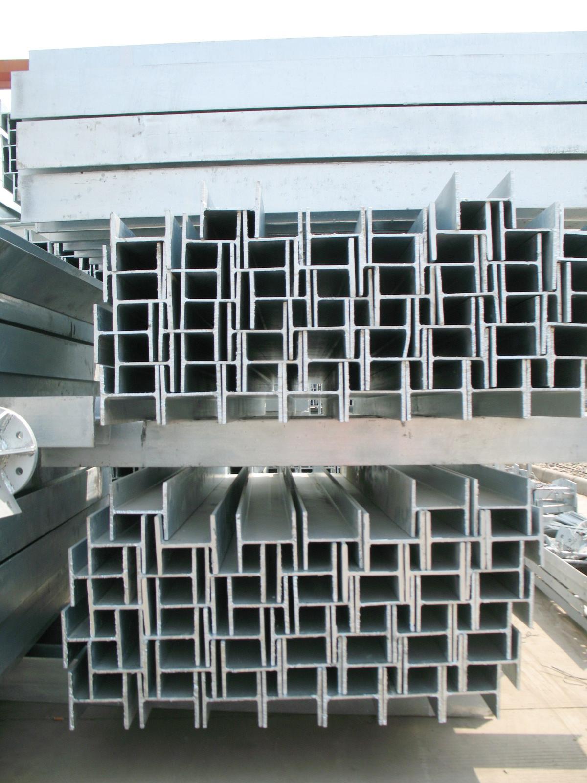 铁路接触网支柱用H型钢